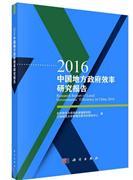 2016-中国地方政府效率研究报告