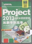 Project2013中文版项目管理从新手到高手-(附光盘1张)
