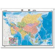 亚洲-世界分洲挂图