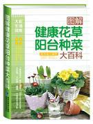 "图解健康花草阳台<font color=""green"">种菜</font>大百科"